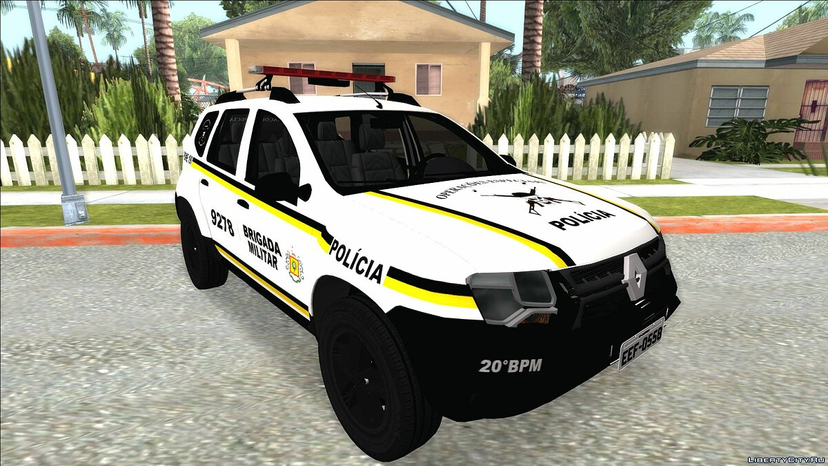 Renault car Renault Duster Brasilian Police for GTA San Andreas