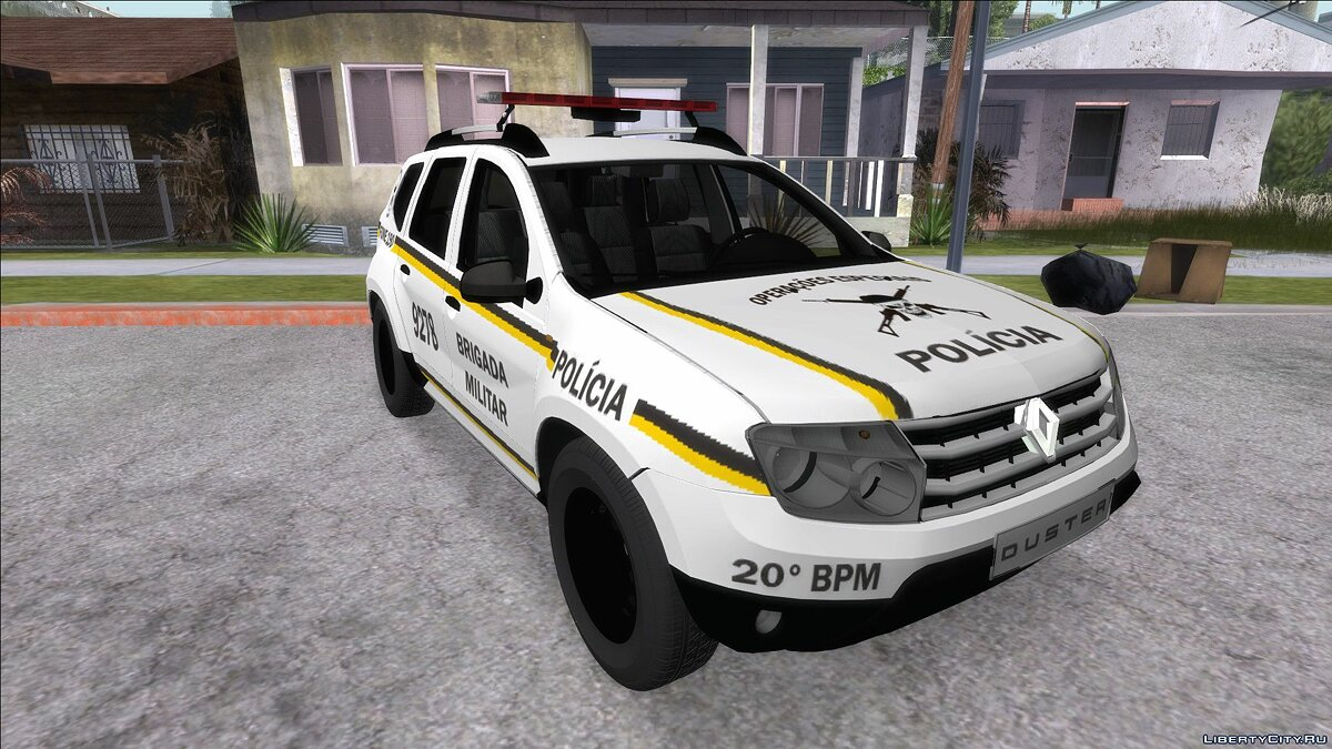 Renault car Renault Duster Policia for GTA San Andreas
