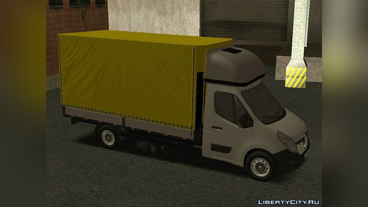 Renault car 2019 Renault Master T for GTA San Andreas