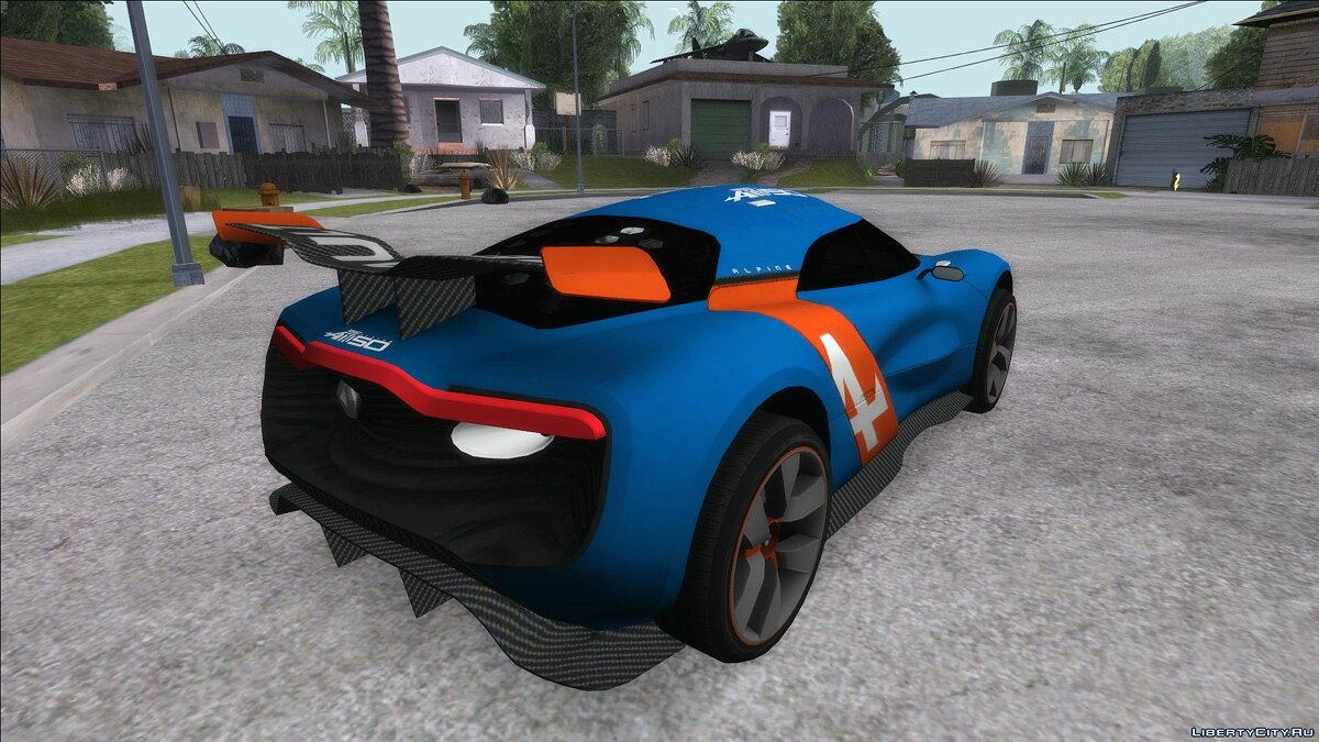 Renault car Renault Alpine A110-50 for GTA San Andreas