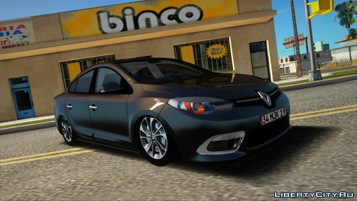 Renault car Renault Fluence for GTA San Andreas