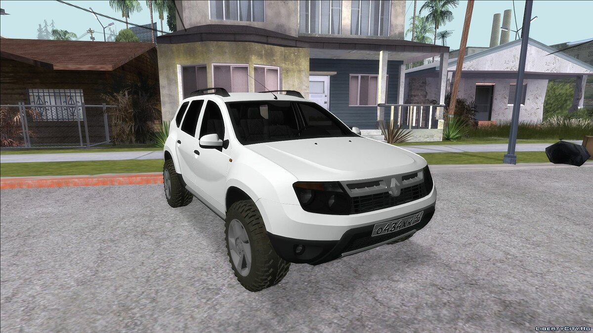 Renault car Renault Duster Soft Offroad for GTA San Andreas