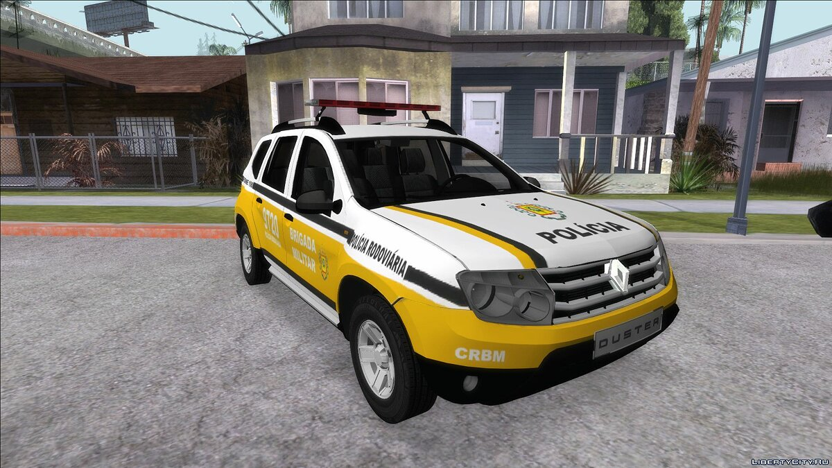 Renault car Renault Duster 2014 Brigada Militar for GTA San Andreas