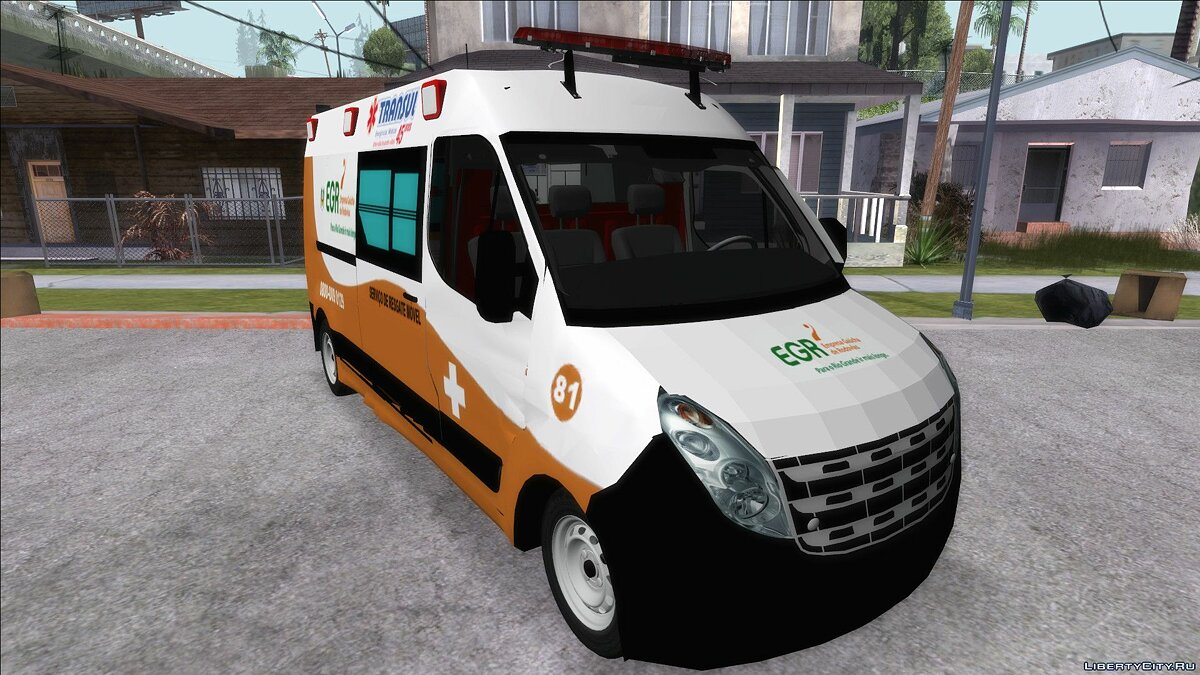 Renault car Renault Master EGR for GTA San Andreas