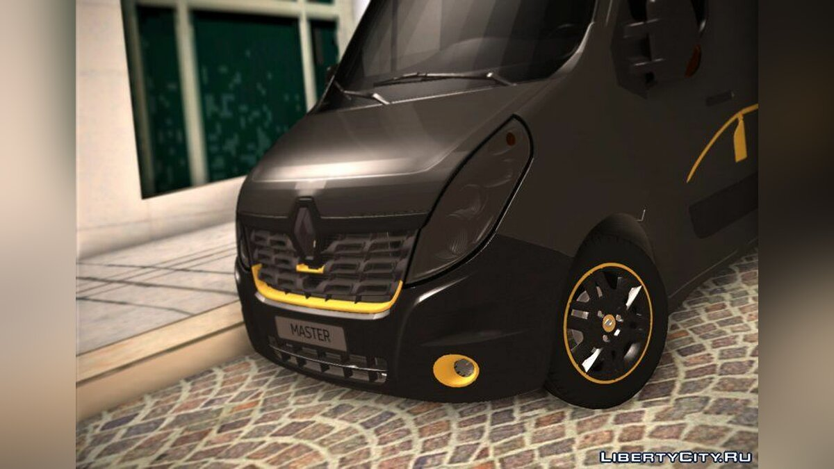 Renault car 2017 Renault Master Formula Edition for GTA San Andreas