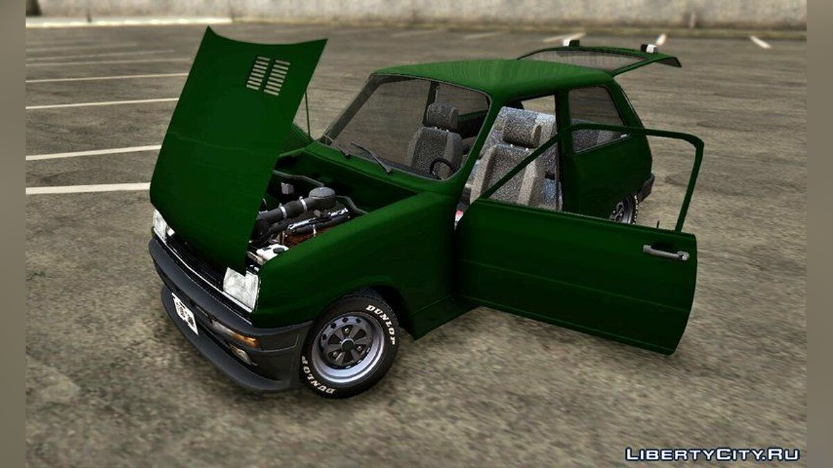 Renault car Renault 5 L 1972 for GTA San Andreas