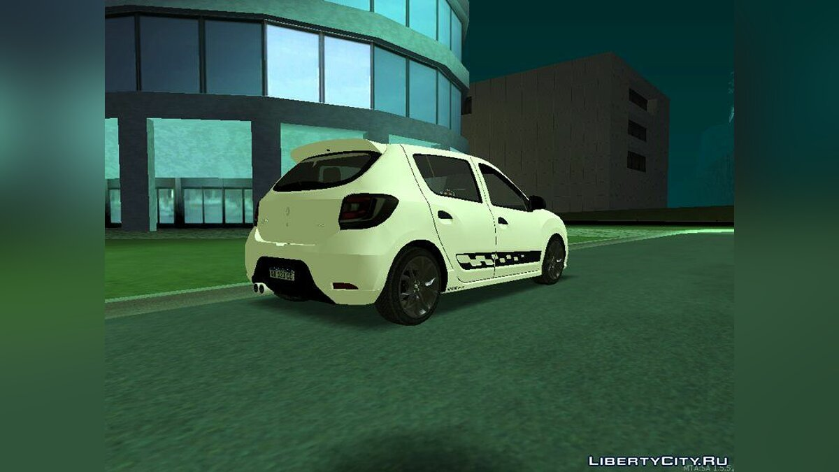 Renault car Renault Sandero RS for GTA San Andreas
