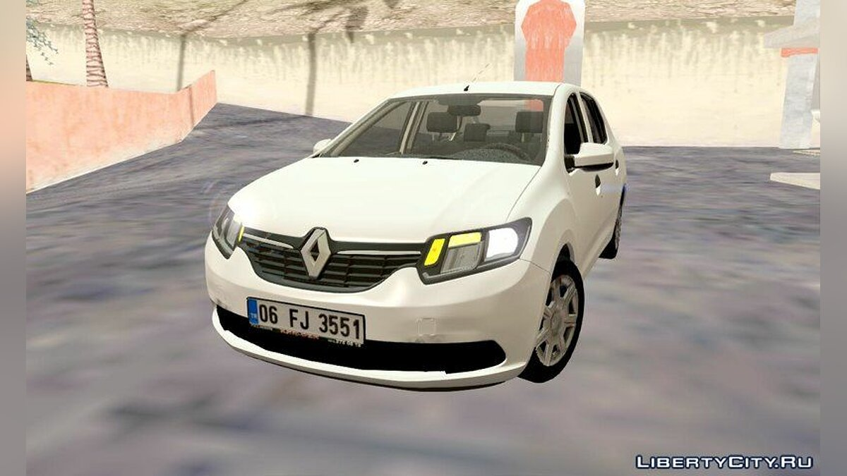 Renault car Renault Symbol 2013 Joy for GTA San Andreas