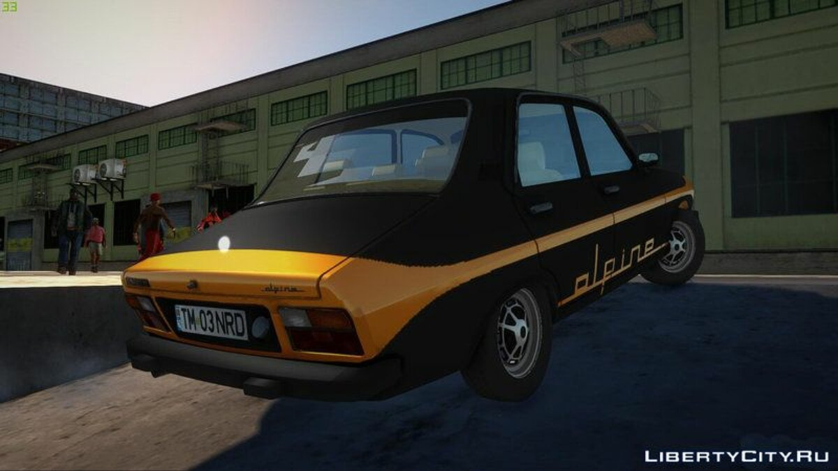 Renault car Renault 12 Alpine for GTA San Andreas