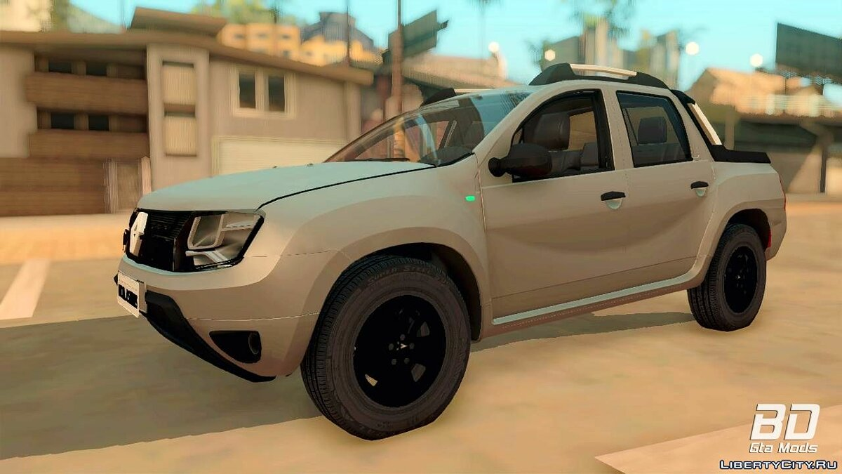 Renault car Renault Duster Oroch 2015 for GTA San Andreas