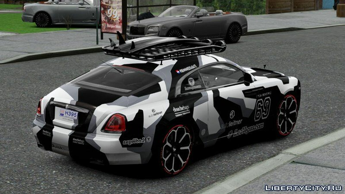 Rolls-Royce car Jon Olsson Rolls Royce Wraith 2014 for GTA San Andreas