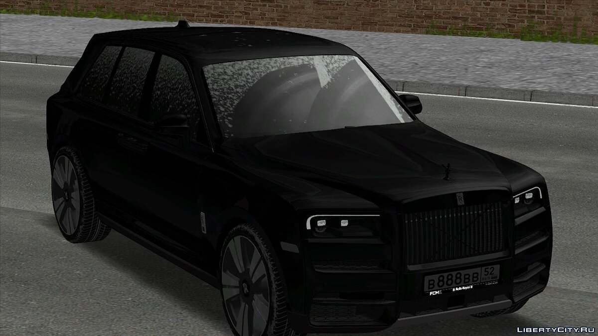Rolls-Royce car Rolls-royce cullinan for GTA San Andreas