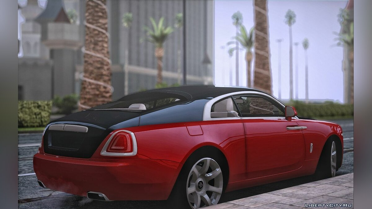 Rolls-Royce car Rolls-royce wraith for GTA San Andreas