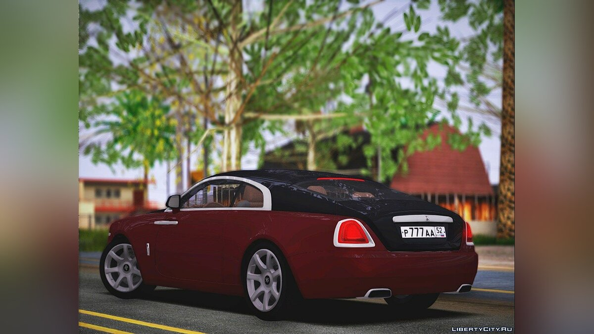 Rolls-Royce car Rolls-Royce Wraith 2017 for GTA San Andreas