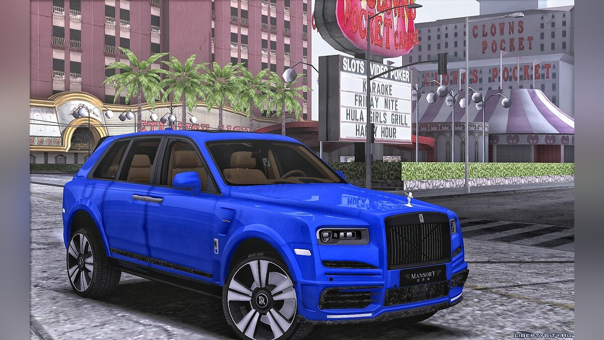 Rolls-Royce car Rolls-royce cullinan mansory for GTA San Andreas
