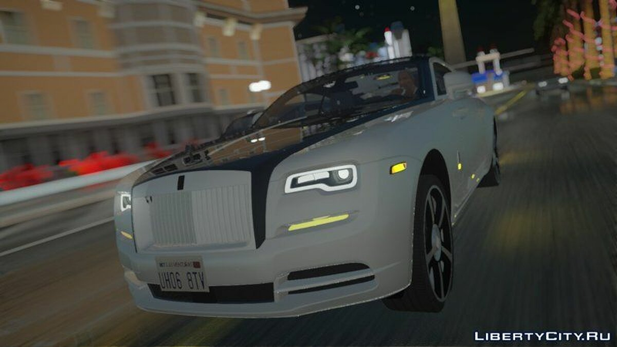 Rolls-Royce car 2018 Rolls Royce Wraith for GTA San Andreas