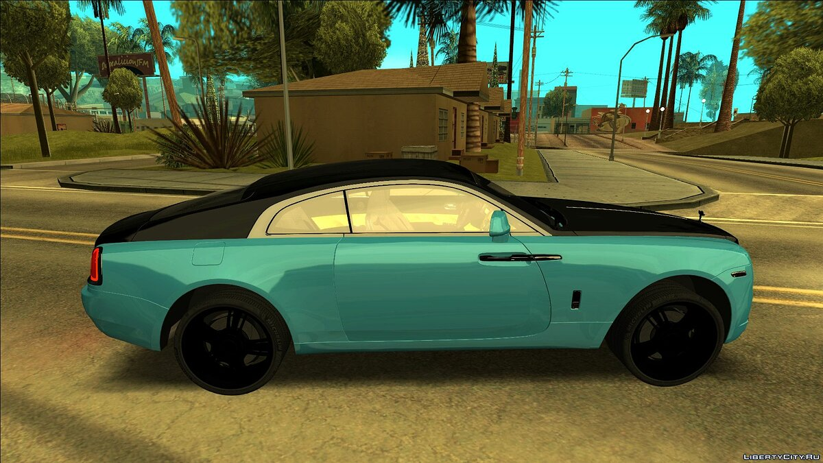 Rolls-Royce car Rolls Royce Wraith Gold for GTA San Andreas