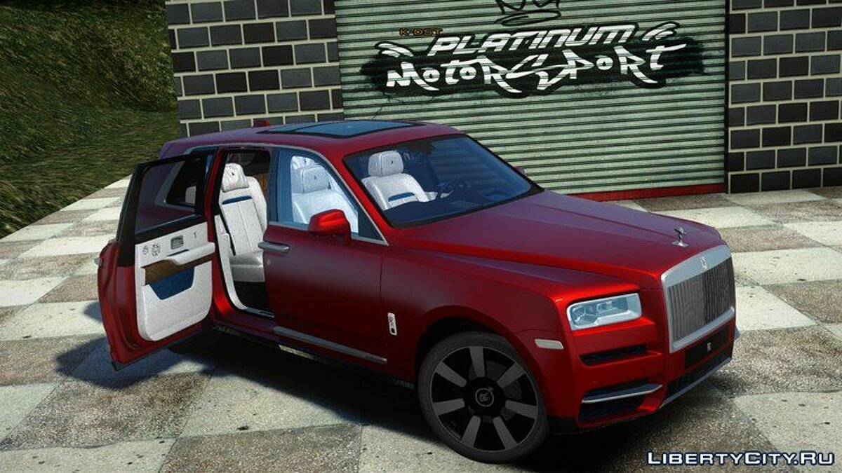 Rolls-Royce car 2019 Rolls ‑ Royce Cullinan for GTA San Andreas