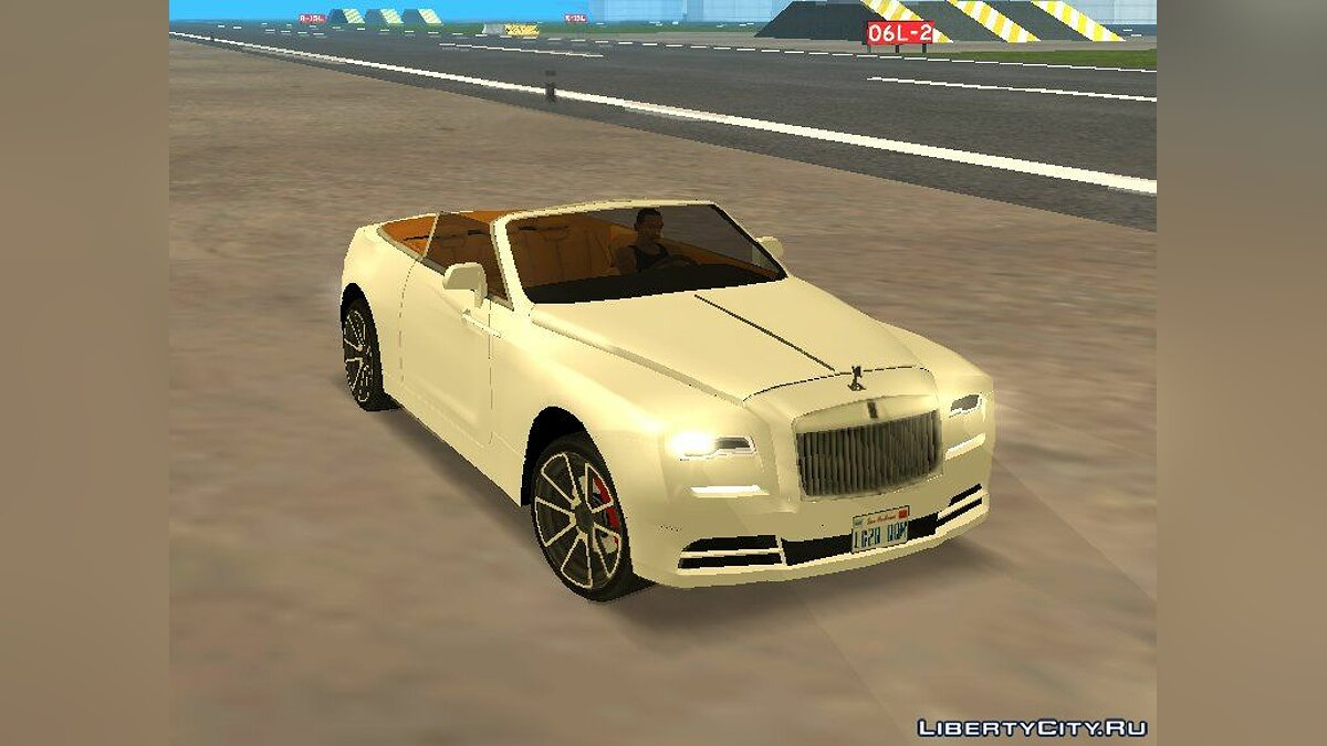 Rolls-Royce car 2019 Rolls Royce Dawn for GTA San Andreas