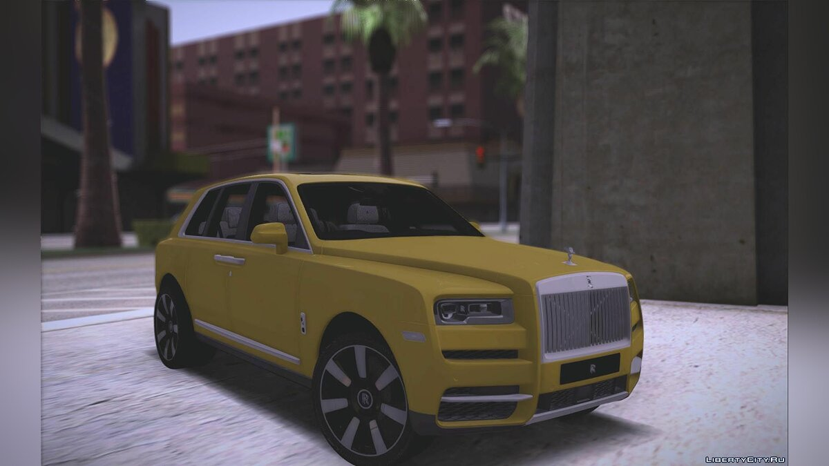 Rolls-Royce car Rolls ‑ Royce Cullinan 2019 for GTA San Andreas