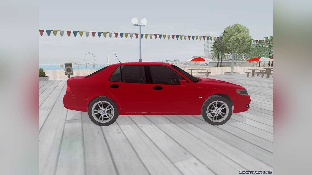 SAAB car Saab 9-5 for GTA San Andreas