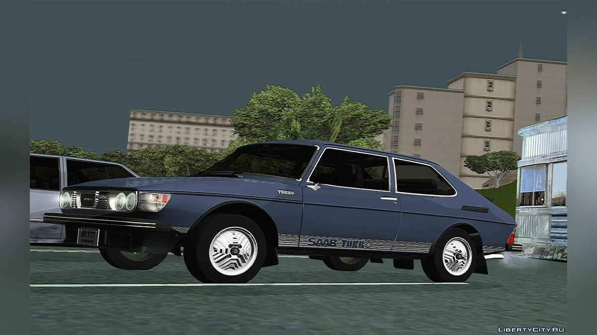 SAAB car 1978 Saab 99 Turbo for GTA San Andreas