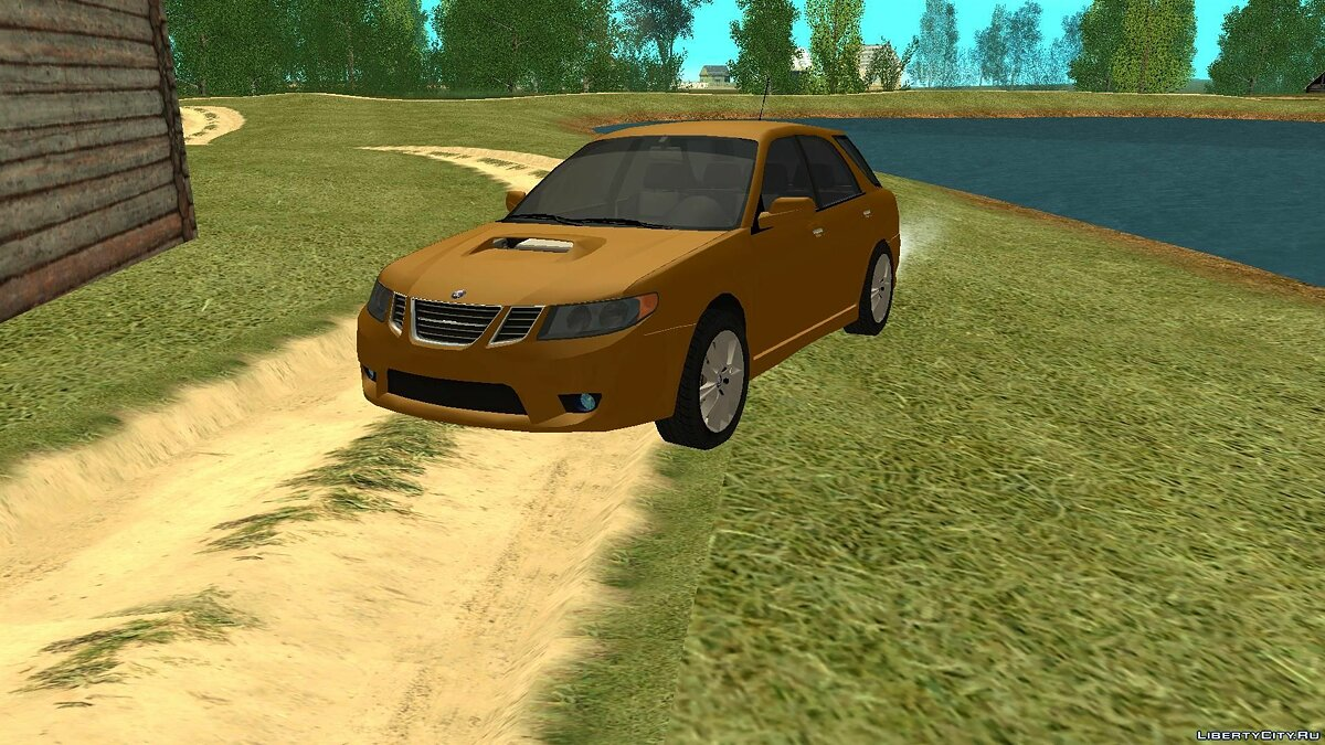SAAB car 2005 Saab 9-2 Aero Beta for GTA San Andreas