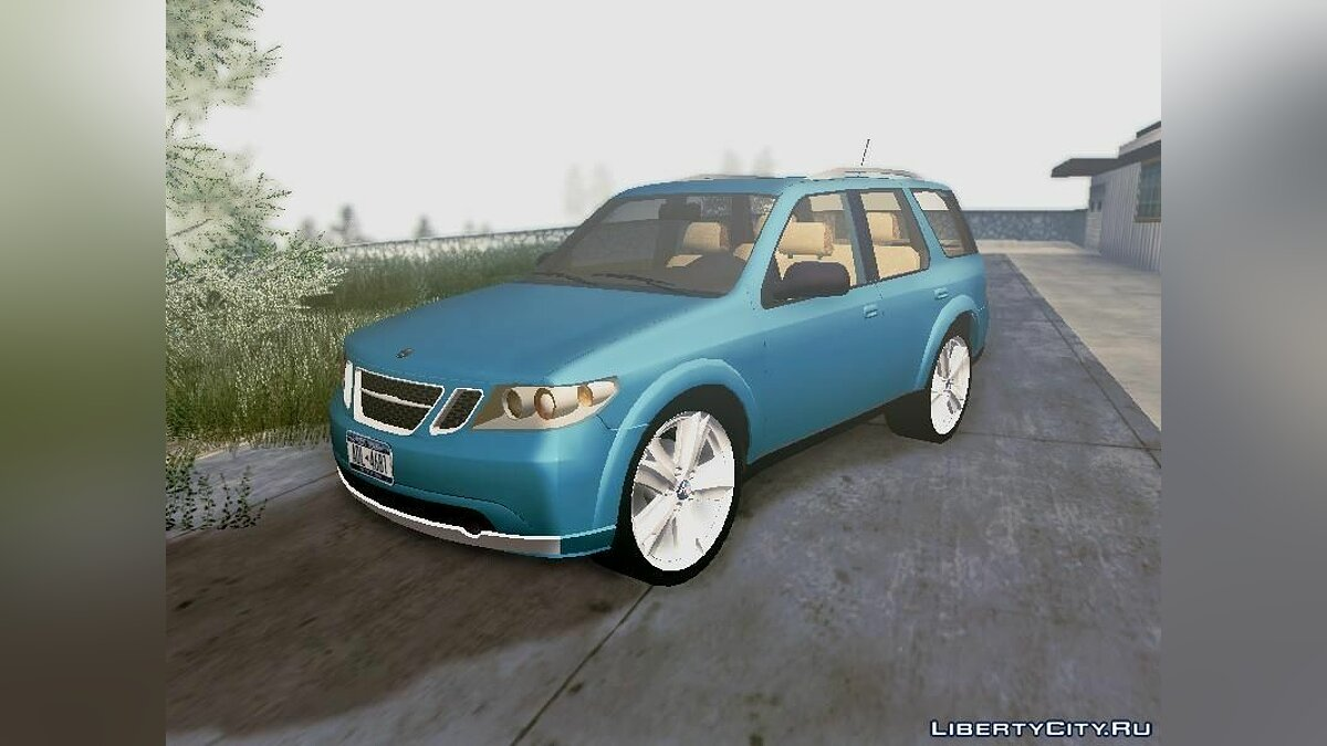 SAAB car SAAB 9-7X for GTA San Andreas