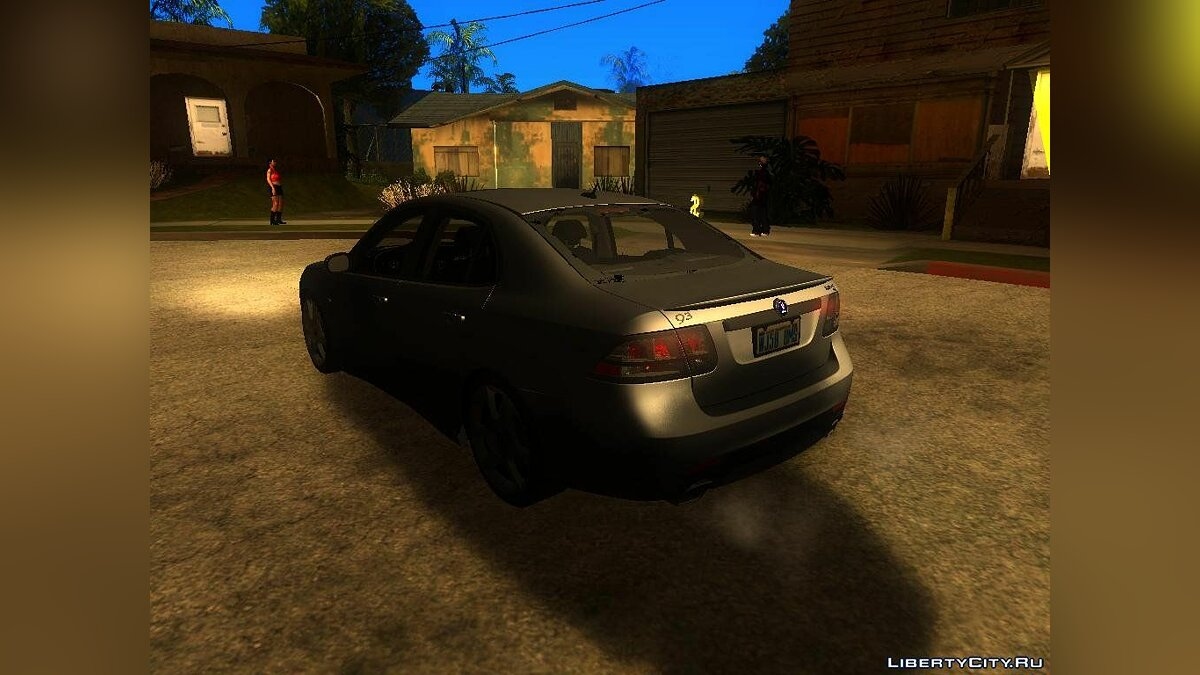 SAAB car SAAB 9-3 Turbo X for GTA San Andreas