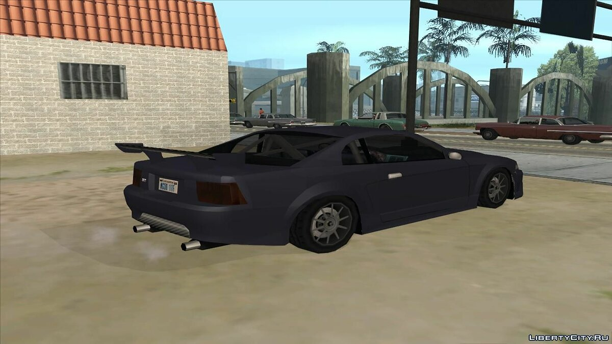 Saleen car Saleen S281 2003 Low Poly for GTA San Andreas