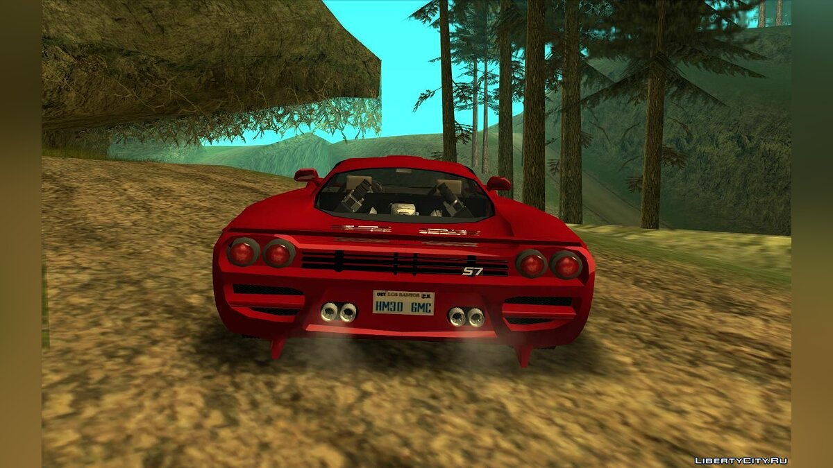 Saleen car Saleen S7 Twin Turbo Custom Tuned for GTA San Andreas