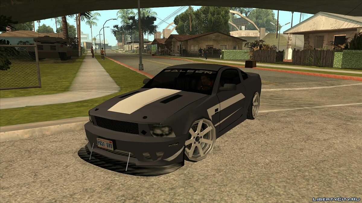 Saleen car Saleen S281 Perfomance 2008 Lowpoly for GTA San Andreas