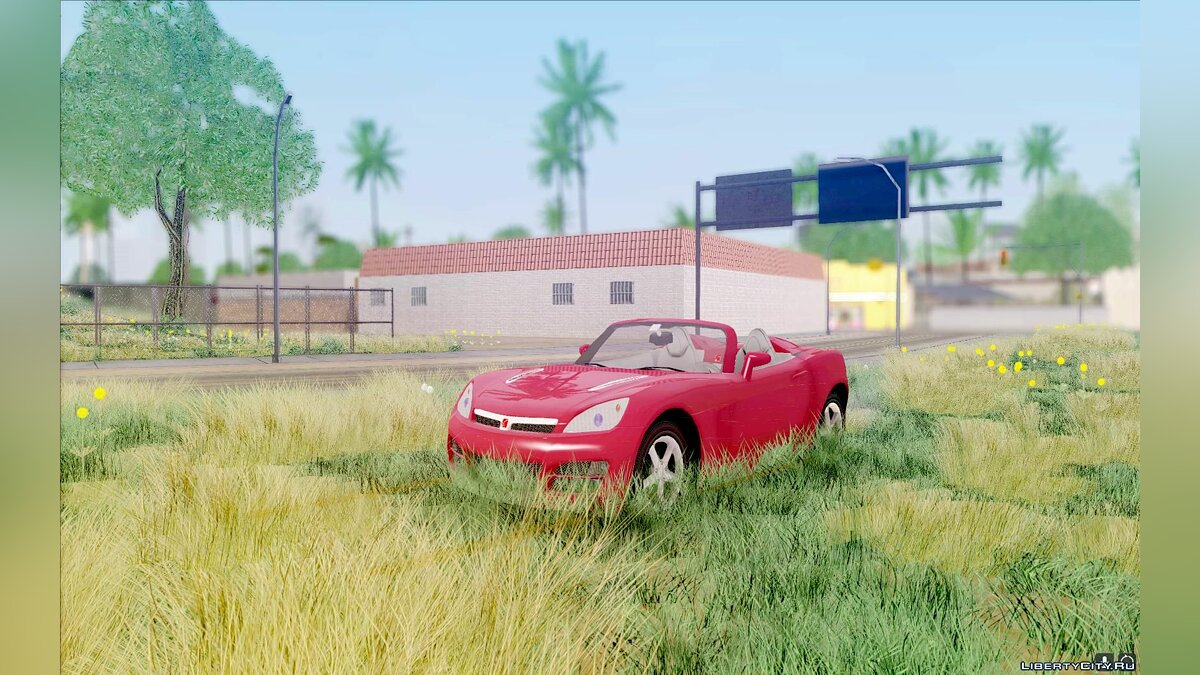 Saturn car Saturn Sky for GTA San Andreas