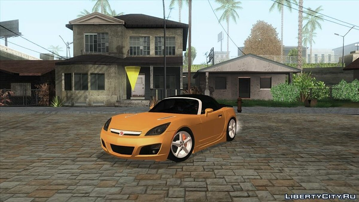 Saturn car 2007 Saturn Sky Red Line v1.0 for GTA San Andreas