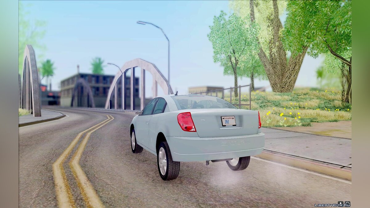 Saturn car Saturn Ion Quad Coupe 2004 for GTA San Andreas