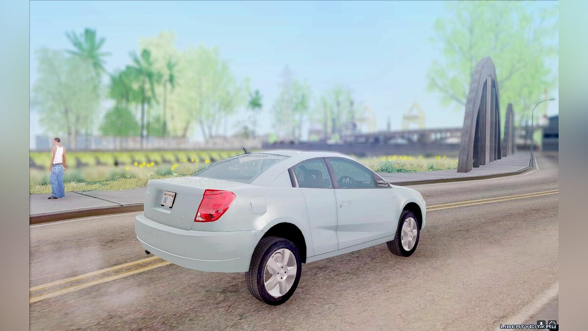 Saturn car Saturn Ion Quad Two-door Version for GTA San Andreas