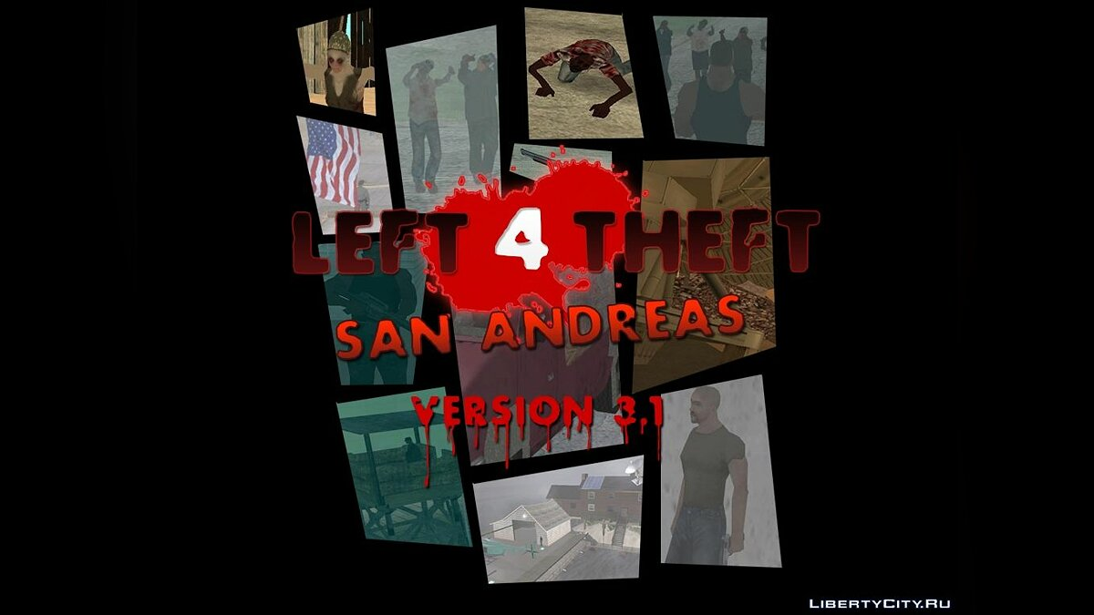Save Left 4 Theft v3.1 Saving 100% for GTA San Andreas