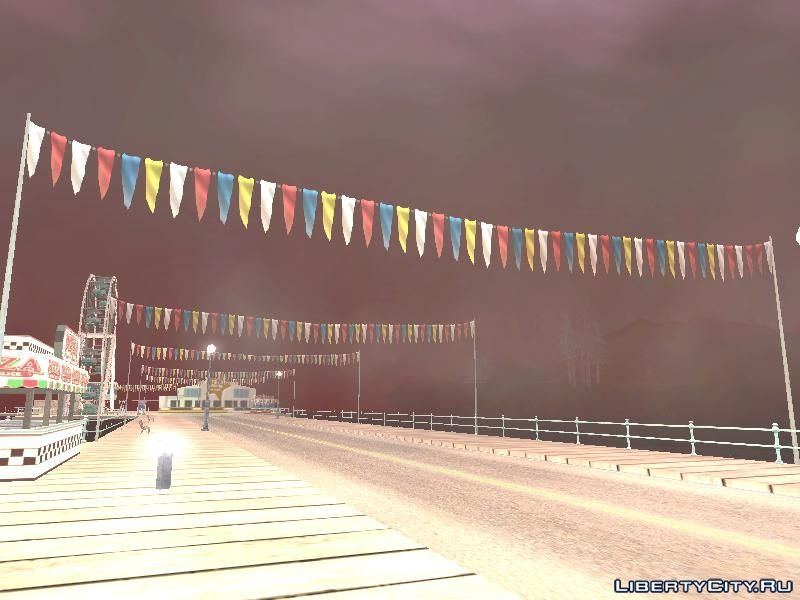 Anomalous weather (Anomalistic weather) for GTA San Andreas