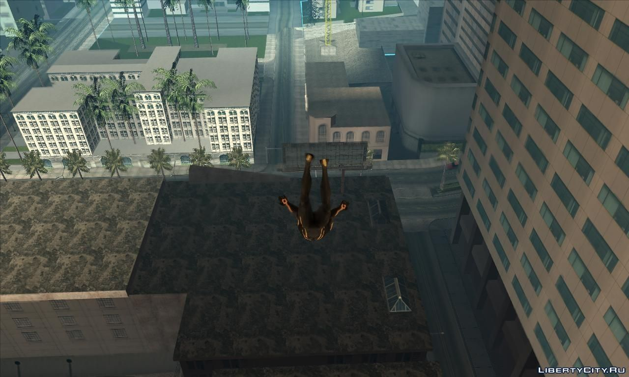 Spider-man mod Demo for GTA San Andreas