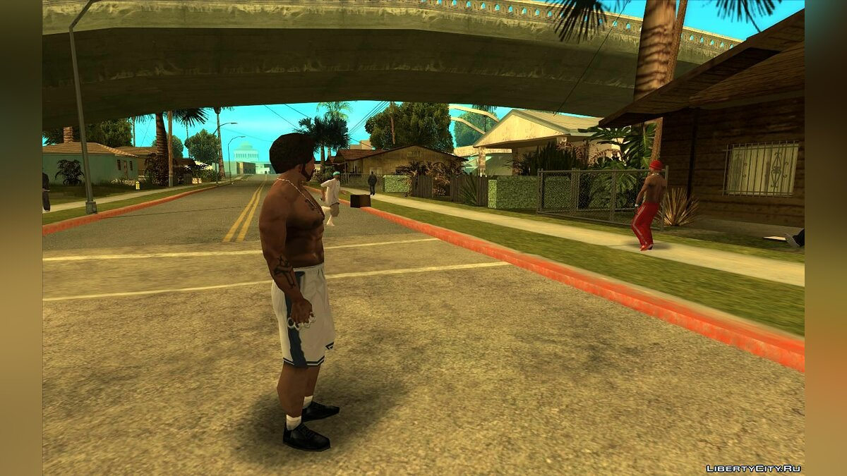 CLEO script Karl turns his head for GTA San Andreas