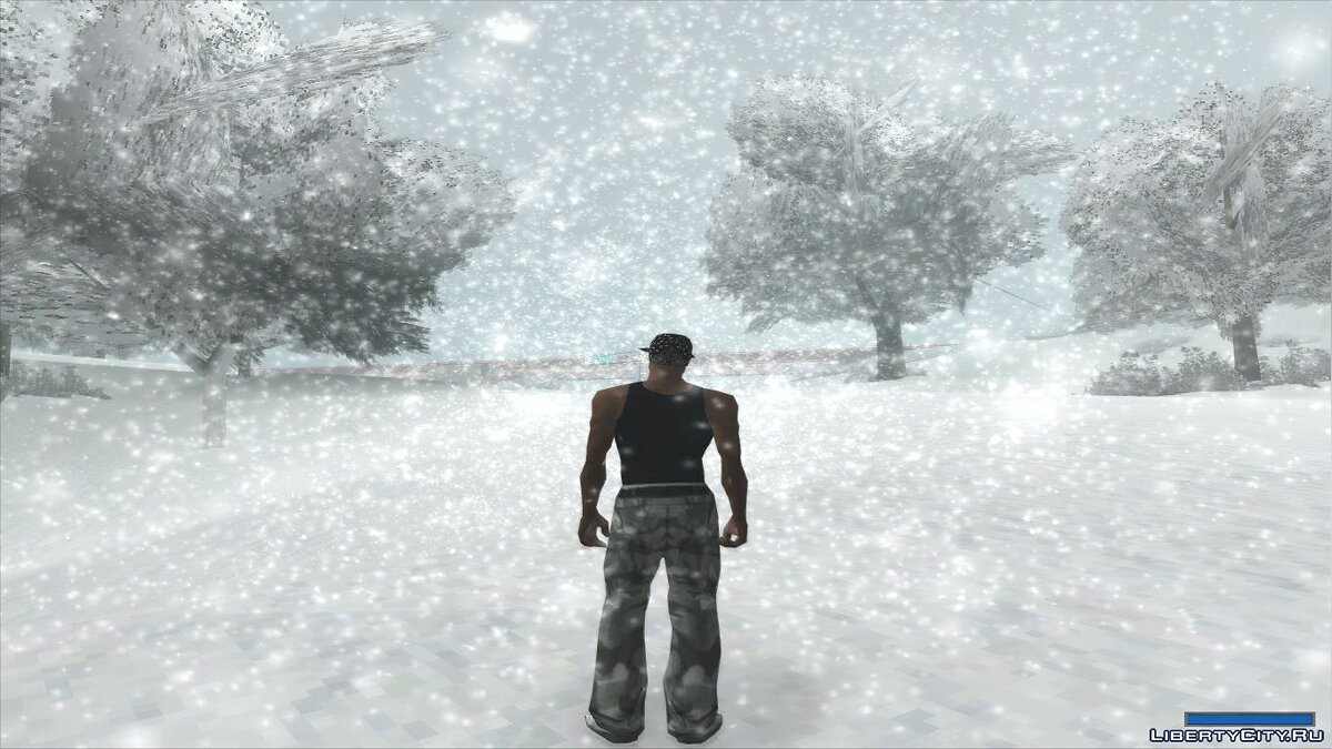 SnowFX v3.0 (unoficial path) for GTA San Andreas - screenshot #2