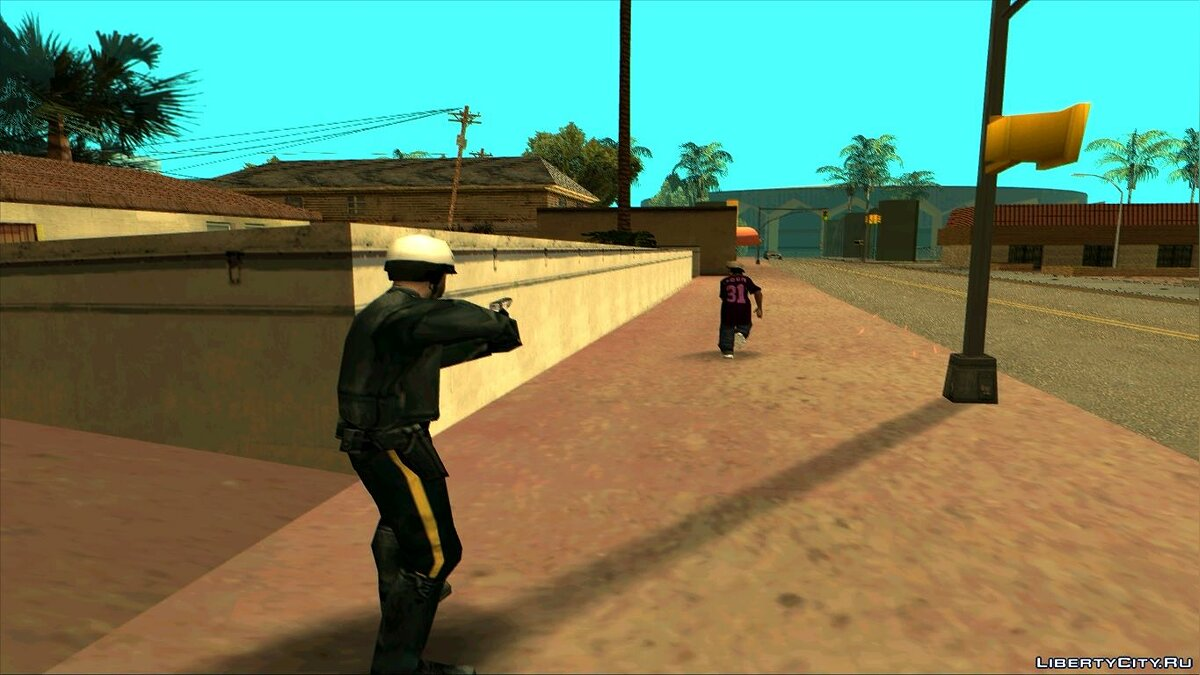 CLEO script Improved intelligence of cops for GTA San Andreas
