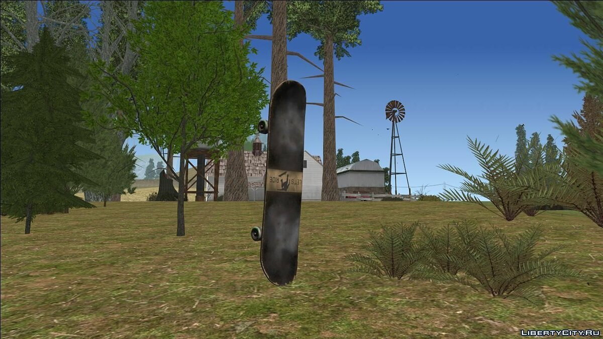 Skateboard Update for GTA San Andreas - Картинка #3