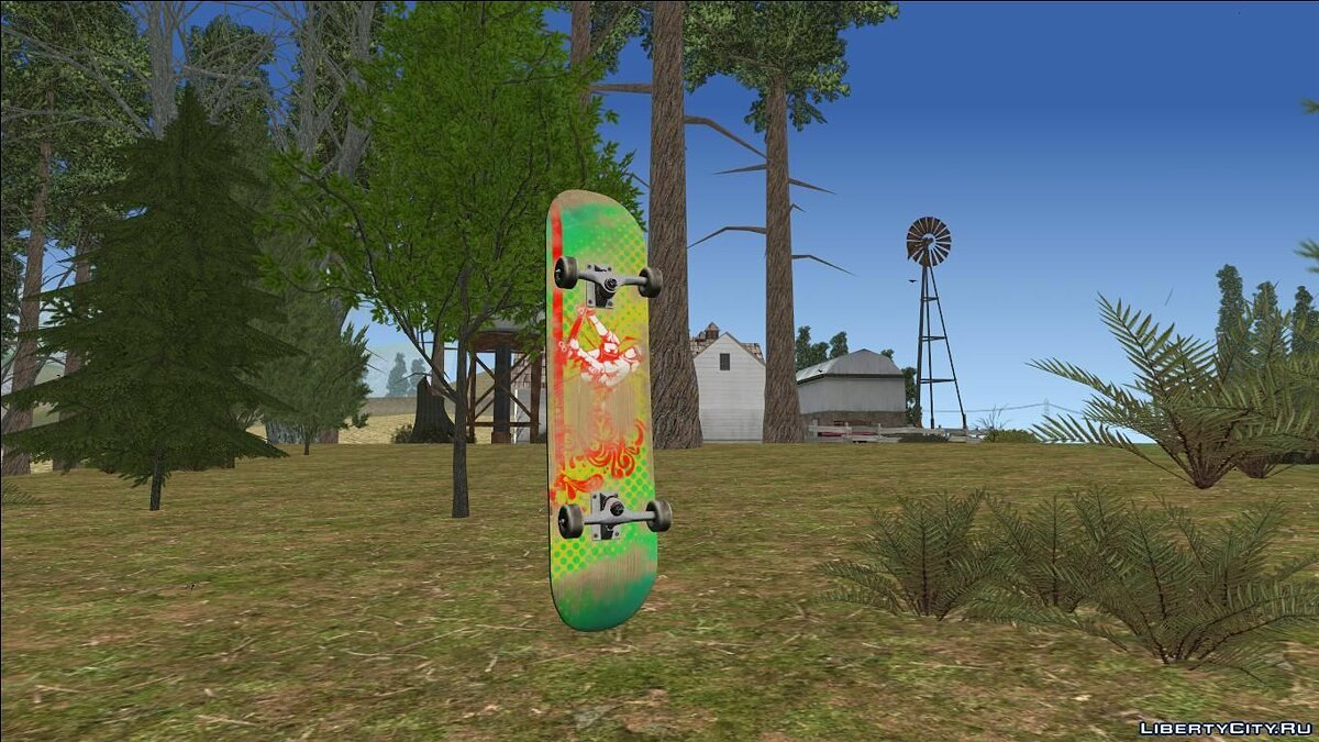 Skateboard Update for GTA San Andreas - Картинка #1