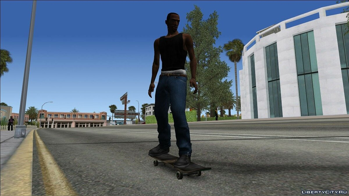Skateboard Update for GTA San Andreas - Картинка #2
