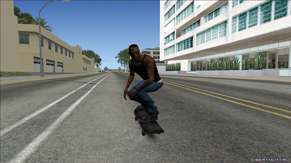 Skateboard Update for GTA San Andreas - Картинка #5
