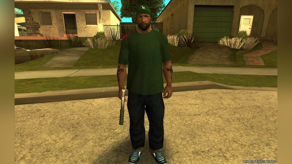 CLEO script Charskin Mod - Wear characters' clothes and face for GTA San Andreas