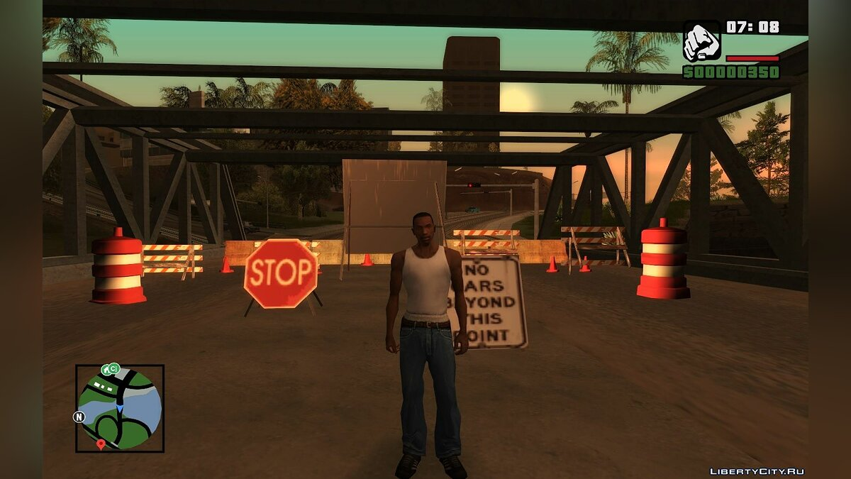 CLEO script No wanted list for visiting other cities for GTA San Andreas