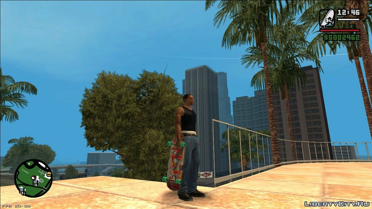 Skateboard Update for GTA San Andreas - Картинка #11