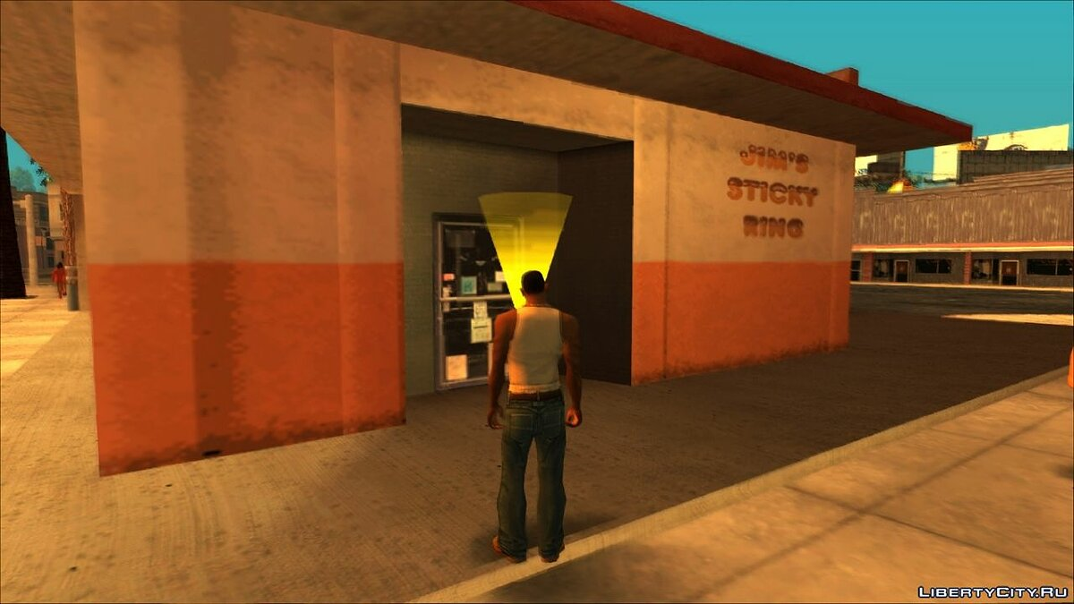 CLEO script The ability to enter the donut shops for GTA San Andreas